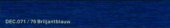 DeC 071 / 76 Briljantblauw