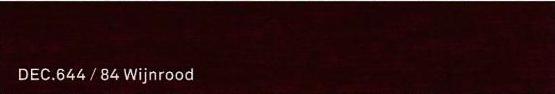 DEC 644 / 84 Wijnroood
